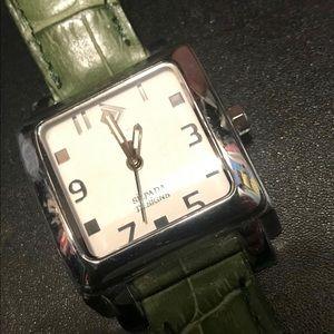 Silpada retired green watch